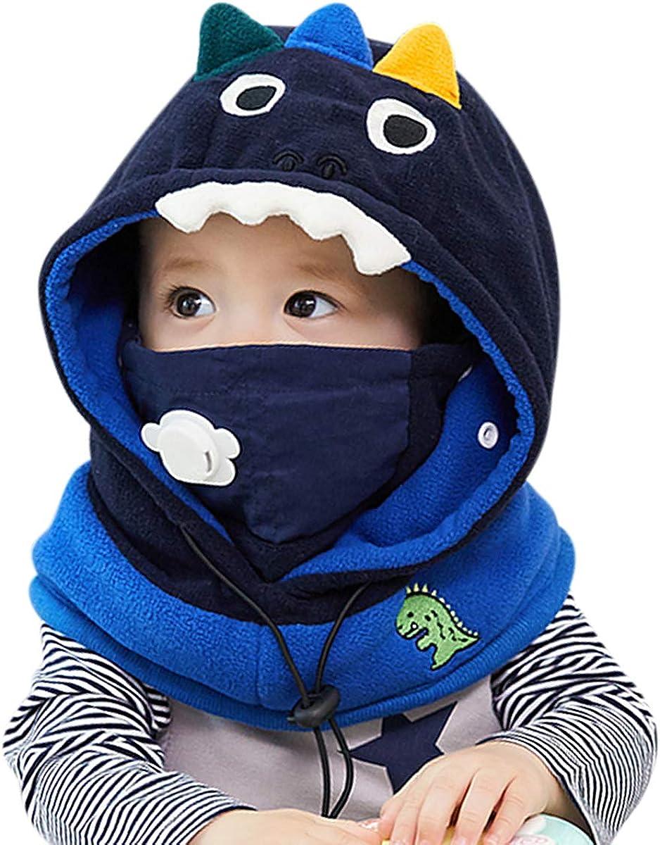DORRISO Lindo Ni/ños Bebe Gorra C/ómodo Calentar Peque/ña Animal Dibujos Animados Gorras Sombrero de Ni/ño Apto para 1-8 a/ños Ni/ños beb/é