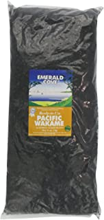 Emerald Cove Silver Grade Ready-to-Use Pacific Wakame (Dried Seaweed), 35-Ounce Bag