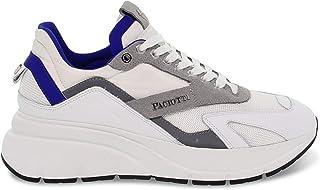 Luxury Fashion | 4us Cesare Paciotti Men 4USPU1BG White Leather Sneakers | Spring-summer 20