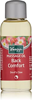 Kneipp Massage Oil, Back Comfort, Devil's Claw, 3.38 fl. oz.