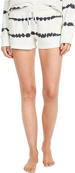 Minimalist Tie-Dye Shorts