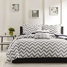 Ahmedabad Cotton Basics 160 TC Cotton Double Bedsheet with 2 Pillow Covers - Modern, White and Grey