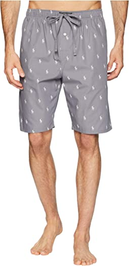 All Over Pony Print Sleep Shorts
