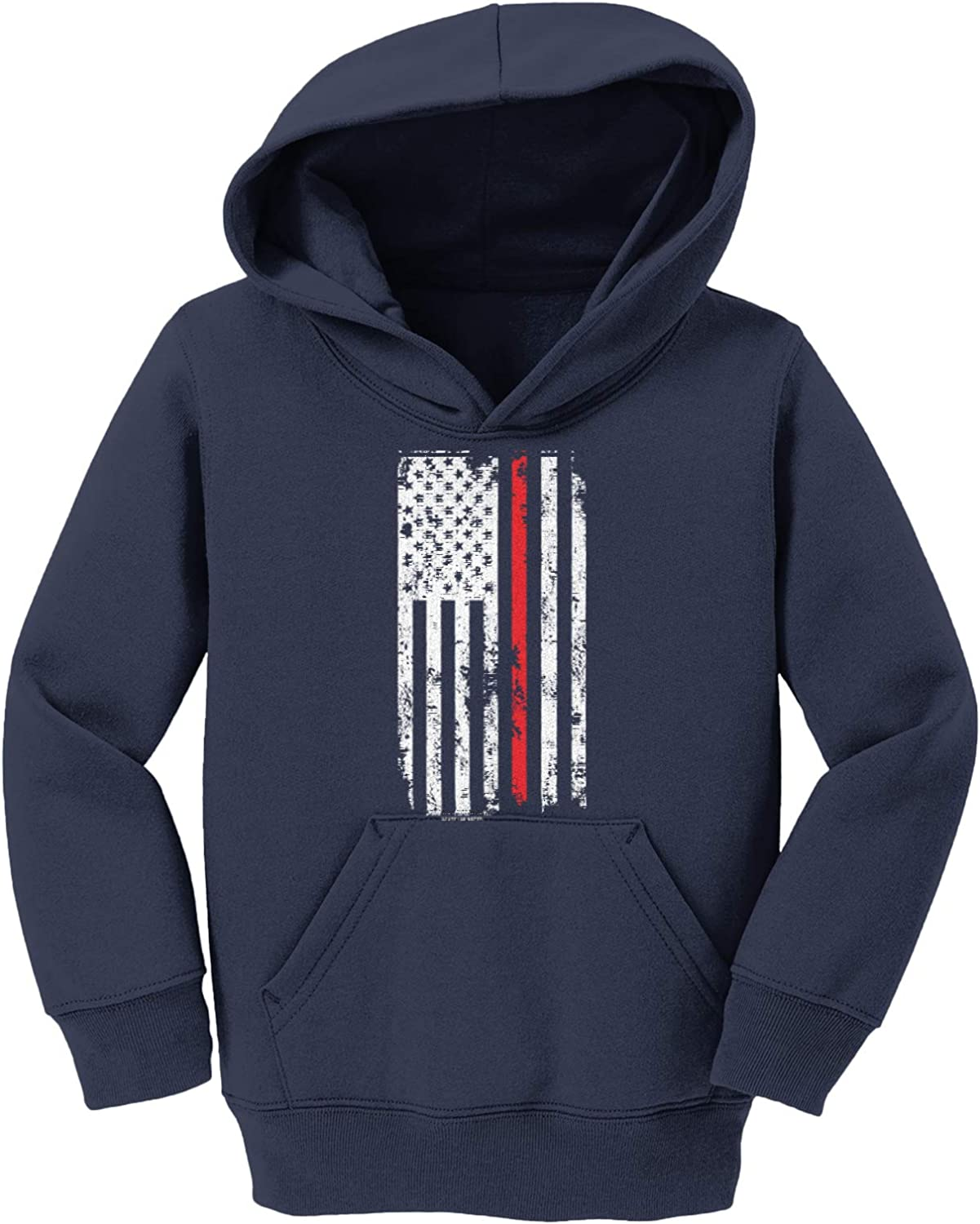 Sale price shopping Red Line American Flag - Support Ho Youth Firemen Fleece Toddler