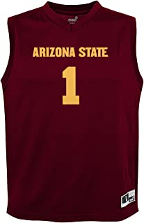 NCAA by Outerstuff NCAA Arizona State Sun Devils Youth boys Chase Basketball Jersey, Maroon, Youth Large(14-16)