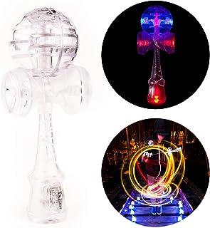 buntes Licht Gyro YoYo Spielzeug drehbar magisch LED Kinder Geschenke Keepart Magnetisches Gyro-Rad