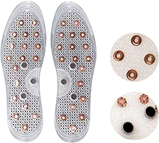 New Anti-Odor Deodorization Acupressure Copper Magnetic Insert Shoes Insole x (1 pairs)