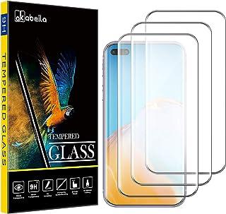Huawei P40 Pro skärmskydd, AKABEILA [3-pack] kompatibel med Huawei P40 Pro härdat glas premium [fullt böjd täckning] HD-sk...