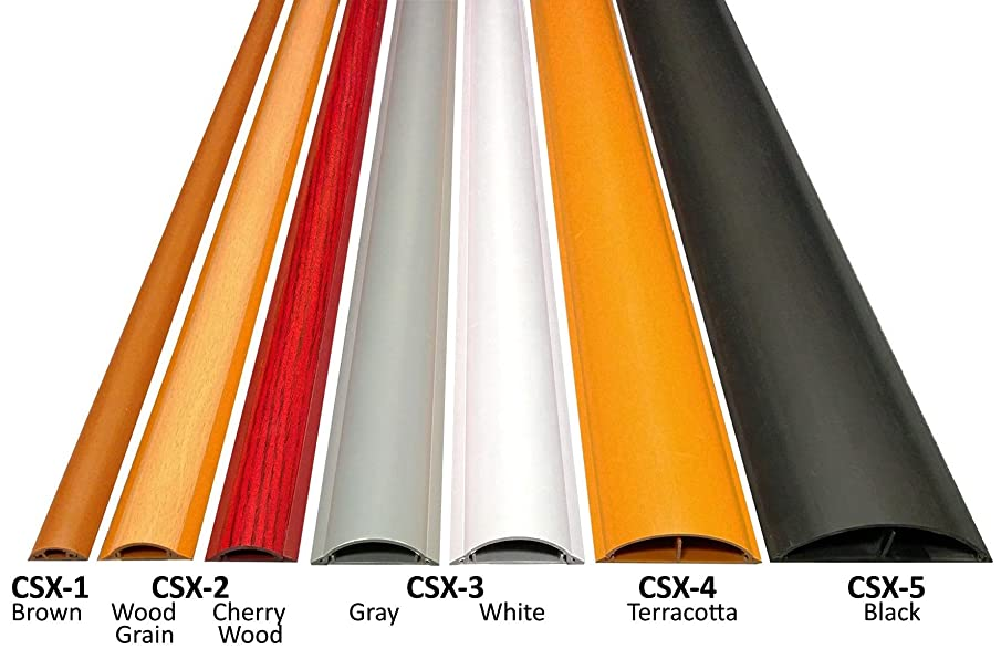 Cable Shield Cord Cover - Model: CSX-1 - Length: 59