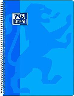 Oxford Classic - Cuaderno espiral, tapa plástico, cuadrí
