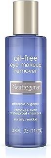 Neutrogena Oil-Free Liquid Eye Makeup Remover, 3.8 Fl. Oz.