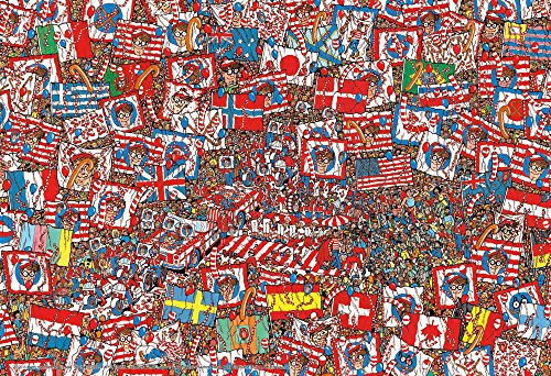 Beverly 150-delige puzzel Waar is Wally? Grote partij Groot stuk (26x38cm)
