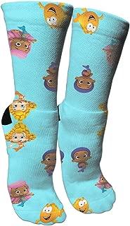 KneeSocks79 Brussels Griffon Cactus Socks Crew Sock Crazy Socks Long Tube Socks Novelty Fun for Women Teens Girls