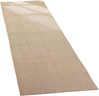 Collections Etc Extra-Wide and Extra-Long Skid-Resistant Floor Runner Rug for High-Traffic Flooring Areas, Including Entryway