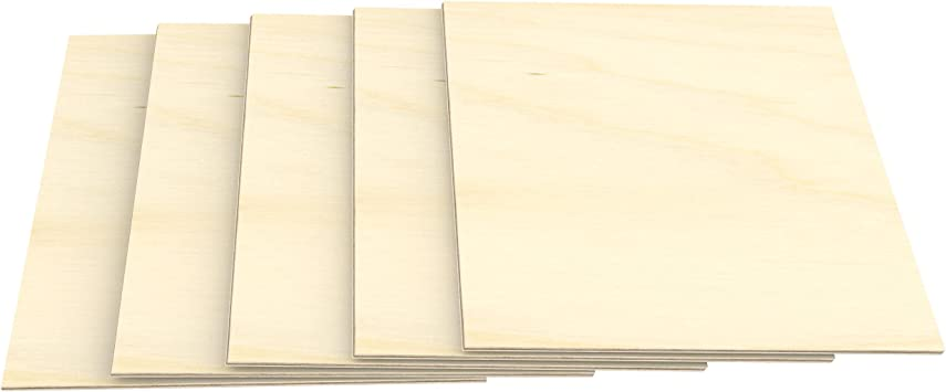 7,832€//m² Holzplatte 20 Platten Sperrholz Multiplex Birke 3 mm 100 x 30 cm