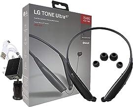 هدست استریو بی سیم بلوتوث LG Tone Ultra HBS-830 با شارژر خانگی / اتومبیل (بسته بندی خرده فروشی)