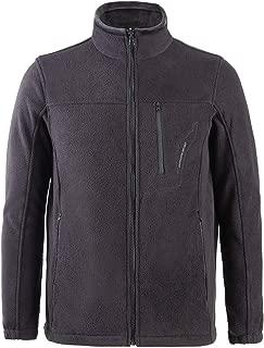 Men Full Zip Fleece Jackets with Pockets Soft Lightweight Zip Up Polar Fleece Outwear