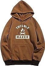 BAGHADBILLO Trouble Maker Printed Unisex Cotton Hoodies Sweatshirt for Men and Women