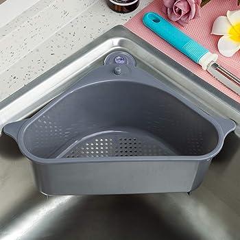 Corner Sink Strainer Storage Hanging Rack Support Corner Shelf Soap Box Hot