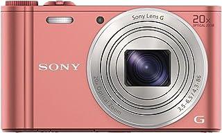 Sony DSC-WX350 - Cámara compacta de 18.2 Mp (pantalla de 3 zoom óptico 20x estabilizador vídeo Full HD) rosado