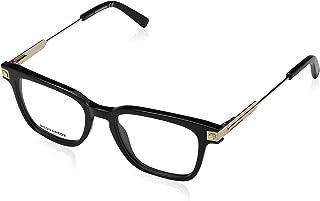 Monturas de gafas Unisex Adulto, 54.0 DSQUARED DQ5253 Negro Lucido