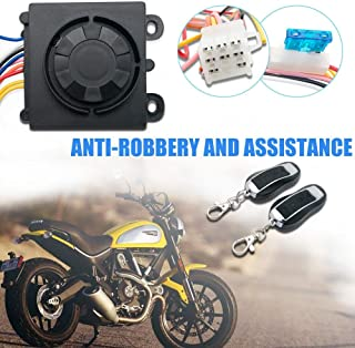 Bessie Sparks Motorcycle Alarm Security System Burglar Protection Systems Anti-theft Immobiliser Securities with Remote Control