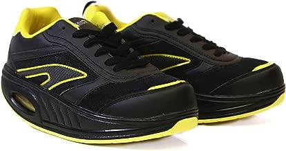Fitness Step Black/Yellow (40): Amazon.es: Zapatos y complementos