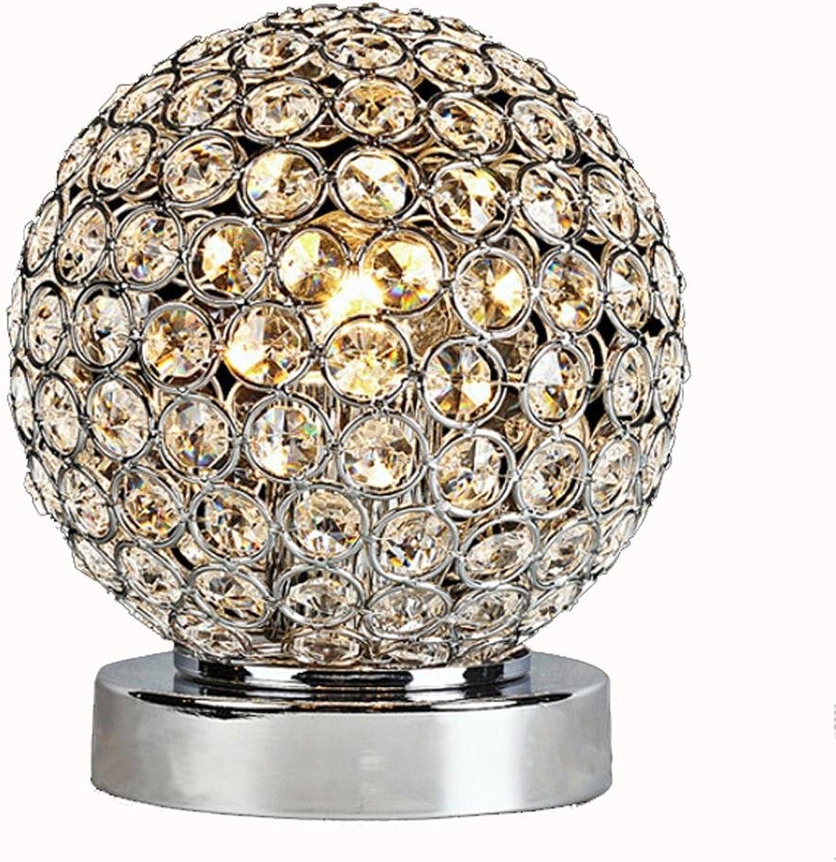 Tischlampe Nachttisch Schlafzimmer Schlafzimmer Schlafzimmer Wohnzimmer dekoriert Kristall Lampe B06XKZ3S2V   Schön und charmant  42528e