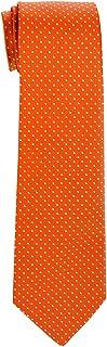 Retreez Dual Color Mini Polka Dots Woven Boy's Tie - 8-10 years - Various Colors