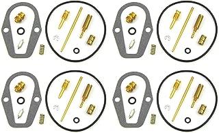 Set of 4 Carburetor Carb Rebuild Repair Kit for CB550 74-76 CB550F CB550K