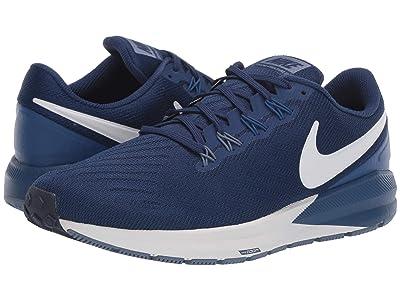Nike Air Zoom Structure 22 (Blue Void/Vast Grey/Gym Blue) Men