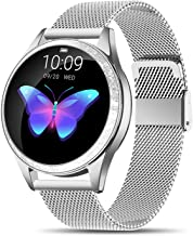 Yocuby V2 Smart Watch for Women, Fitness Tracker Compatible with iOS Android Phone, Sport Activity Tracker with Sleep/Hear...
