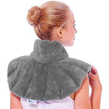 Huggaroo – Impacco termico per il collo, utilizzabile in microonde, non profumato