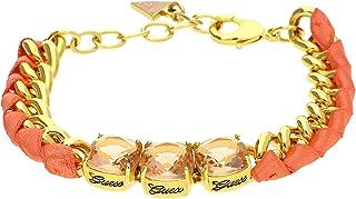 Guess Women Metal Bracelet Gold Heat Wave - UBB11415