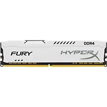 Kingston Technology HyperX Fury White 8GB 2933MHz DDR4 CL17 DIMM1Rx8 Memory HX429C17FW2/8