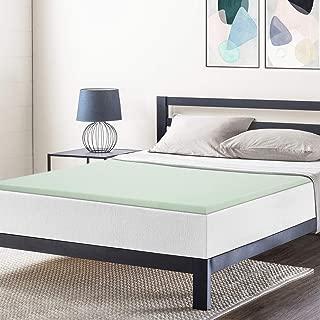 Best Price Mattress Queen Mattress Topper - 1.5 Inch Green Tea Infused Memory Foam Bed Topper Cooling Mattress Pad, Queen Size