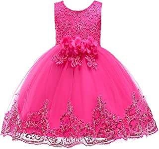 YLQ 子供のスカート白雪姫のスカートチュチュ子供ドレス女の子の衣装クリスマススカート女の子のドレス (色 : 赤, サイズ : 120cm)