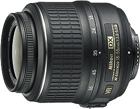 Nikon 18-55mm f/3.5-5.6G AF-S DX VR Nikkor Zoom Lens - White Box (New) (Bulk Packaging)