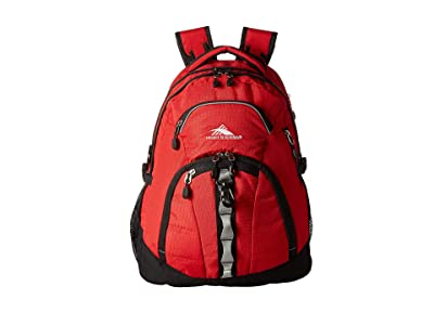 High Sierra Access II Backpack (Crimson/Black) Backpack Bags