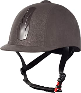 Horze 30048-G/SI-59-61 Triton Galaxy Helmet, Grey