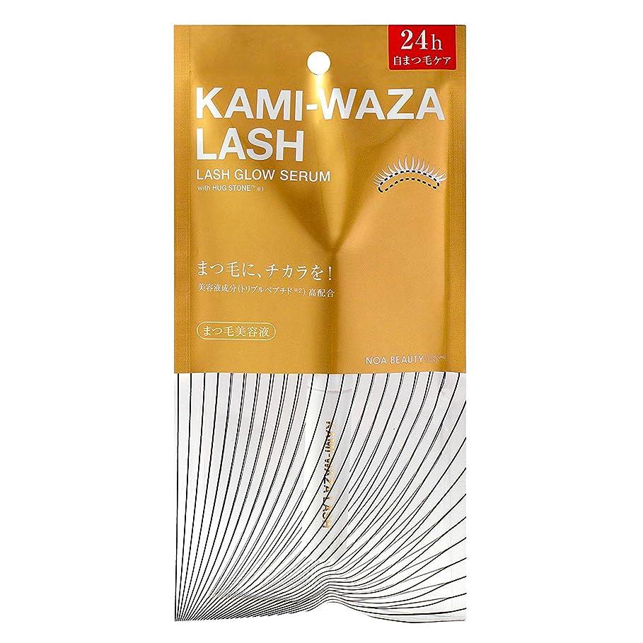 膨張するびっくりした側溝KAMI-WAZA(カミワザ) LASH 〈まつ毛美容液〉 KWB01 (4.5g)