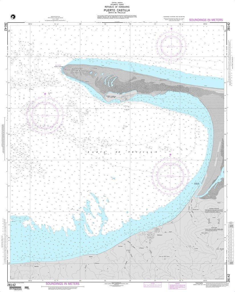 NGA Chart 28142: Free shipping / New Ranking TOP1 Puerto Castilla