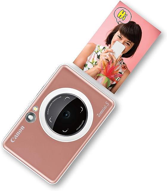Canon Zoemini S Cámara Bluetooth Tamaño Único Rosa Oro