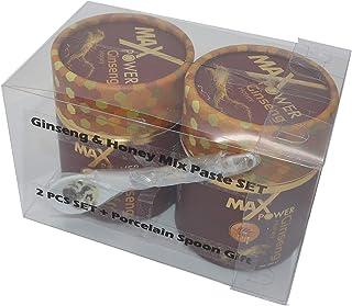 Sponsored Ad - 2pcs Stylish Gift Boxed Set/MAX-POWER/Ginseng & Honey Mix Paste Set -%100 Natural Aphrodisiac 240g / 8.5oz ...
