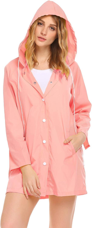 SoTeer Womens wholesale Waterproof Raincoat Hooded Lightwei Rain Coat New Shipping Free Shipping Long