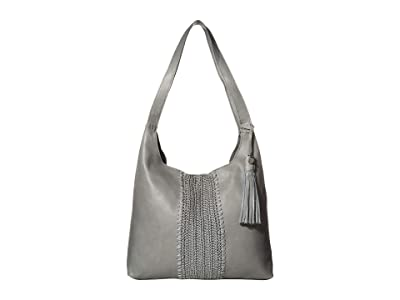 The Sak Huntley Hobo (Denim Crochet Inset) Hobo Handbags