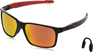 Men's Oo9460 Portal X Rectangular Sunglasses