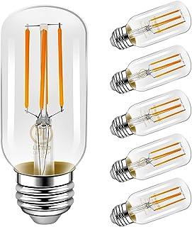 LED Light Bulbs, Emotionlite E26 Dimmable Vintage Edison Tubular Bulb, 40W Equivalent,..
