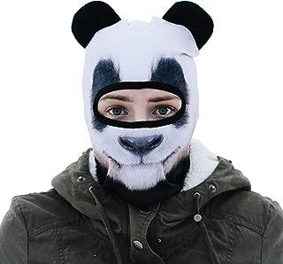 BEARDOWEAR Unisex Realistic Print Animal Head Balaclava Face Mask Ski Mask