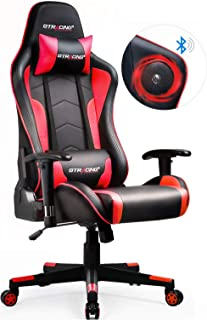 GTRACING Gaming Chair with Bluetooth Speakers Music Video Game Chair Audio【Patented..